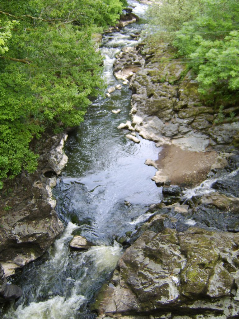 The River Roe at the Roe Valley County Park, Limavady