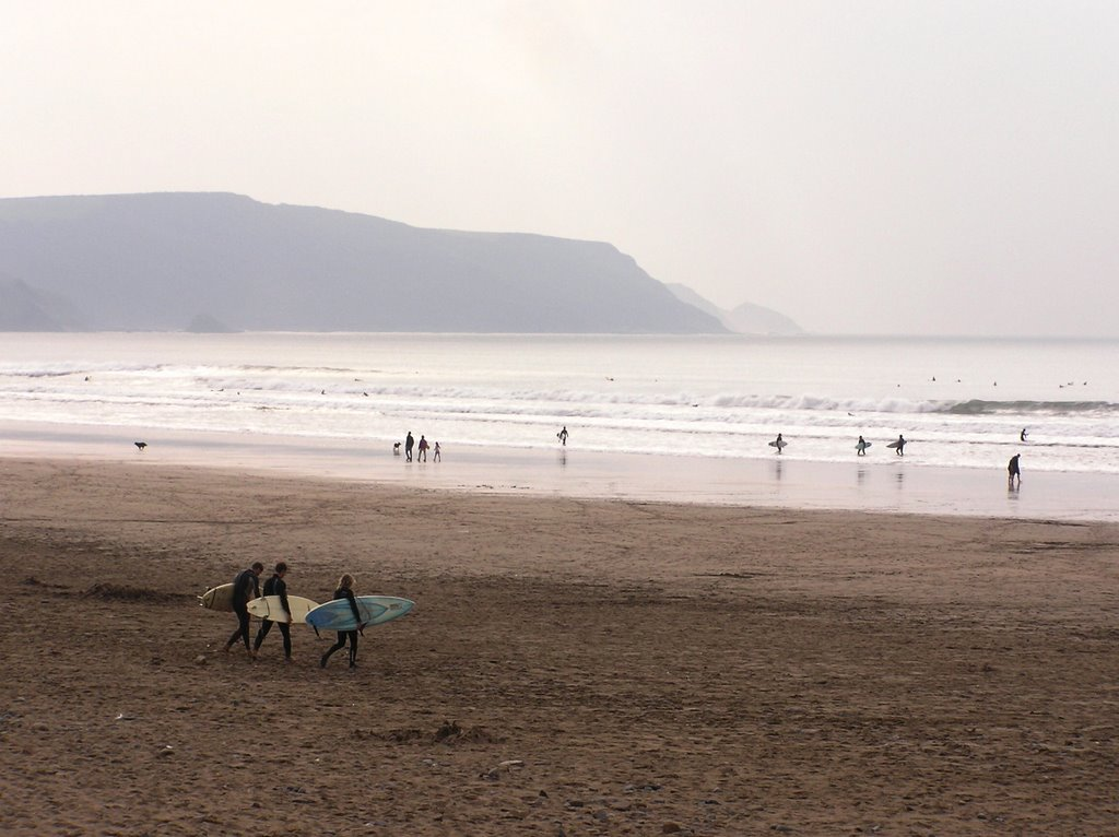 Late Afternoon at Widemouth Bay