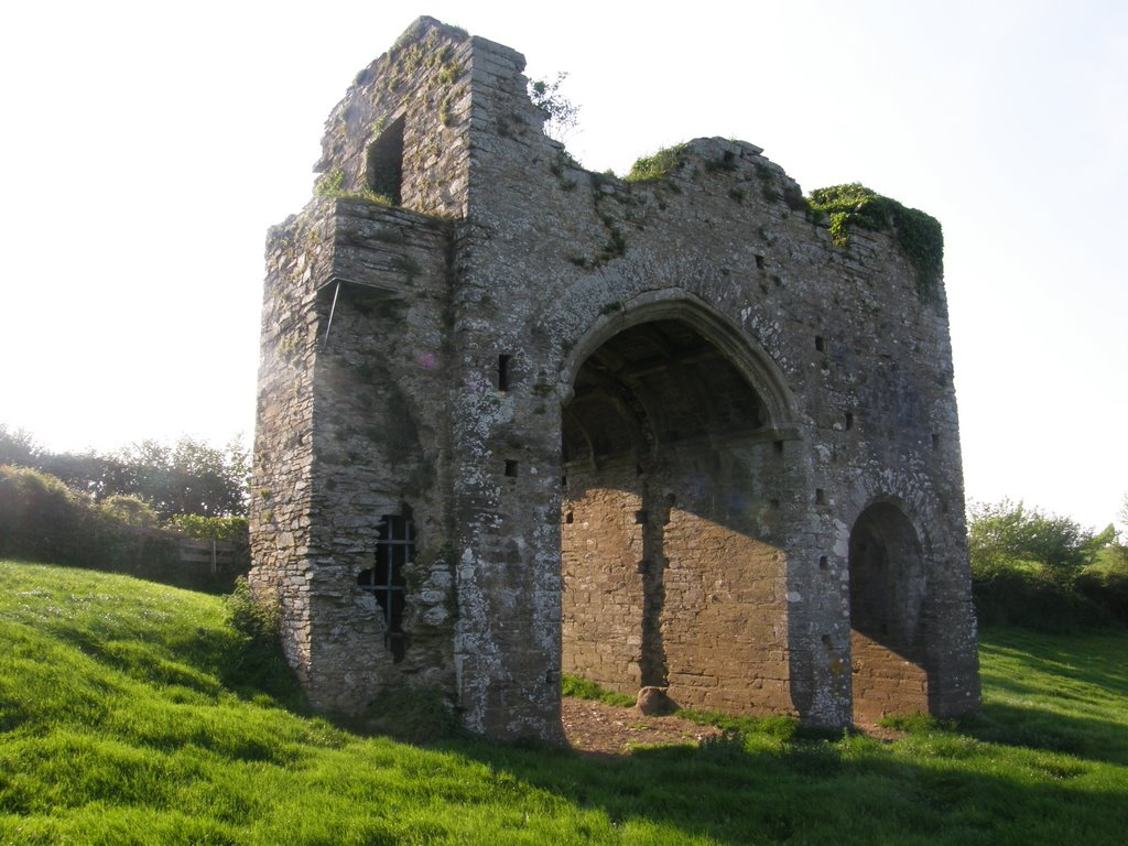 Cornworthy Abbey ruins