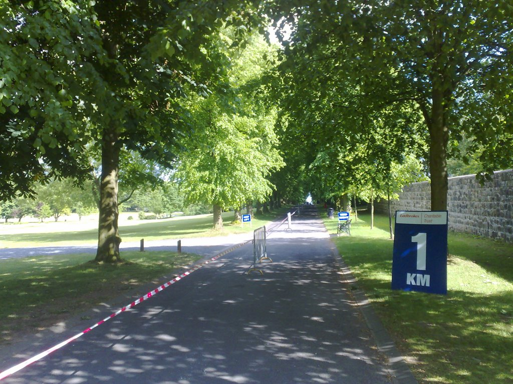 Lurgan Park, before Charity 10k Race