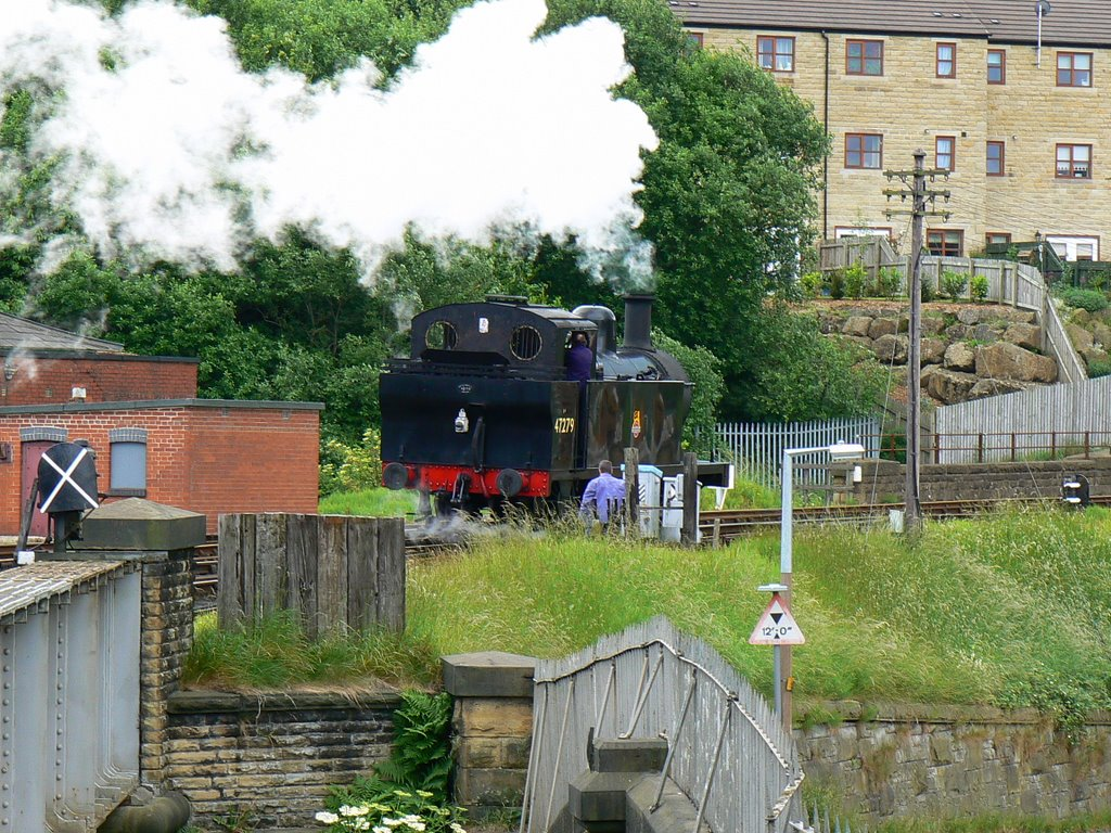 Worth Valley Railway, Keighley (south-east)