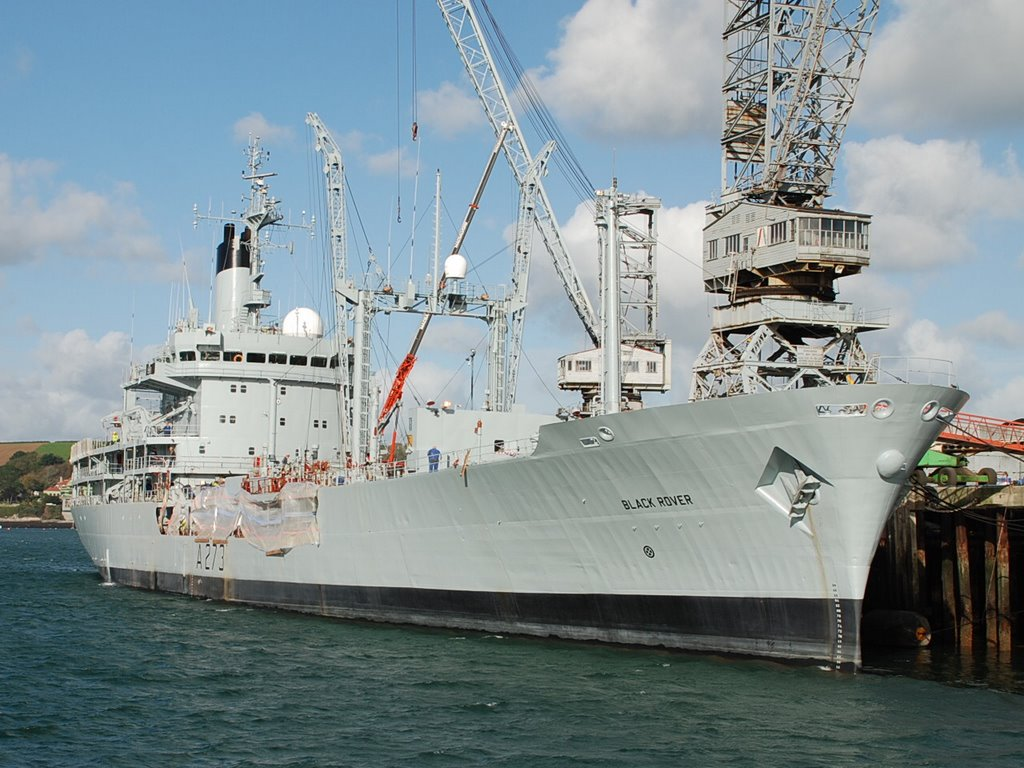RFA BLACK ROVER in Falmouth