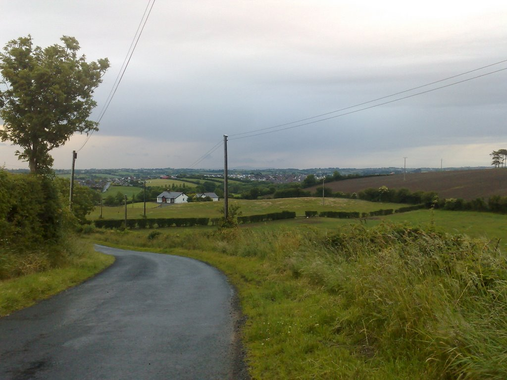 View of Dromore from Barronstown Road, North, 2008