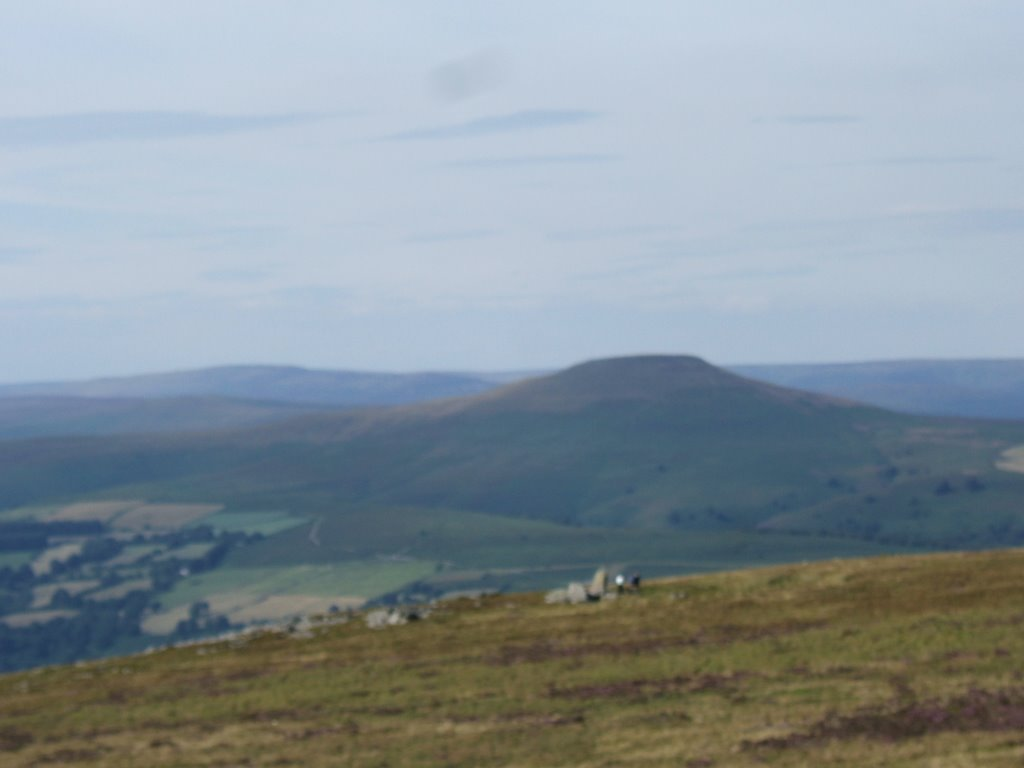 Sugar Loaf Mountain viewed from Blorenge