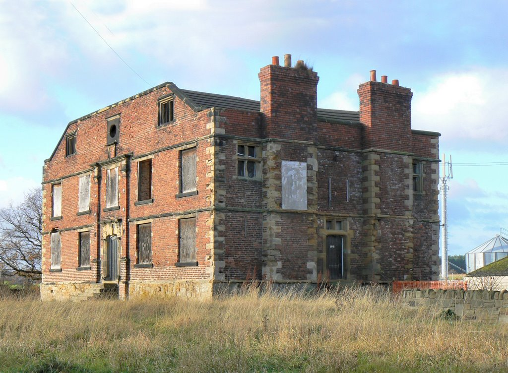 Grimethorpe Hall now in a sad state