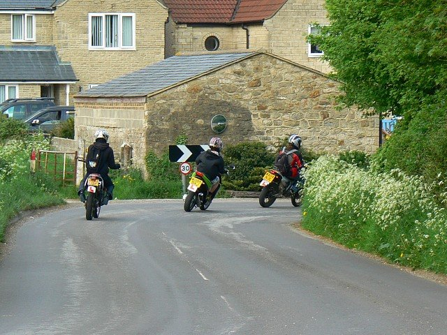 Motorcyclists, The Fox