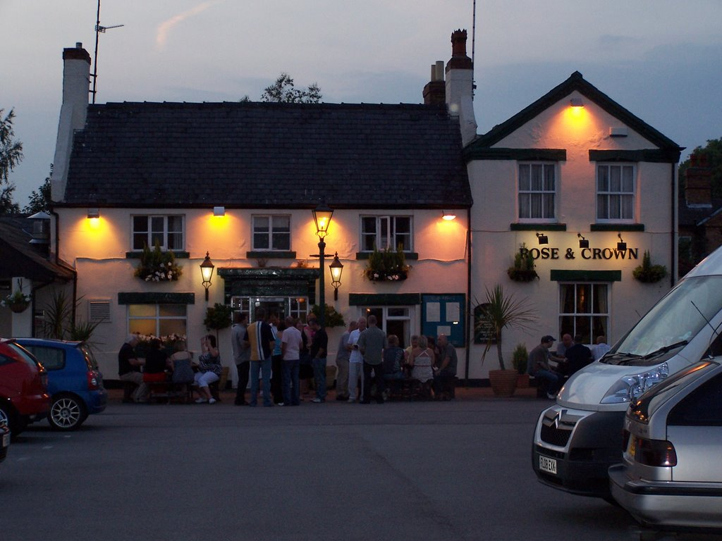 Rose and Crown Cotgrave Evening