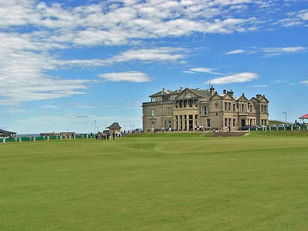 1ST, 18TH, Holes. Royal & Ancient Club House STAndrews..