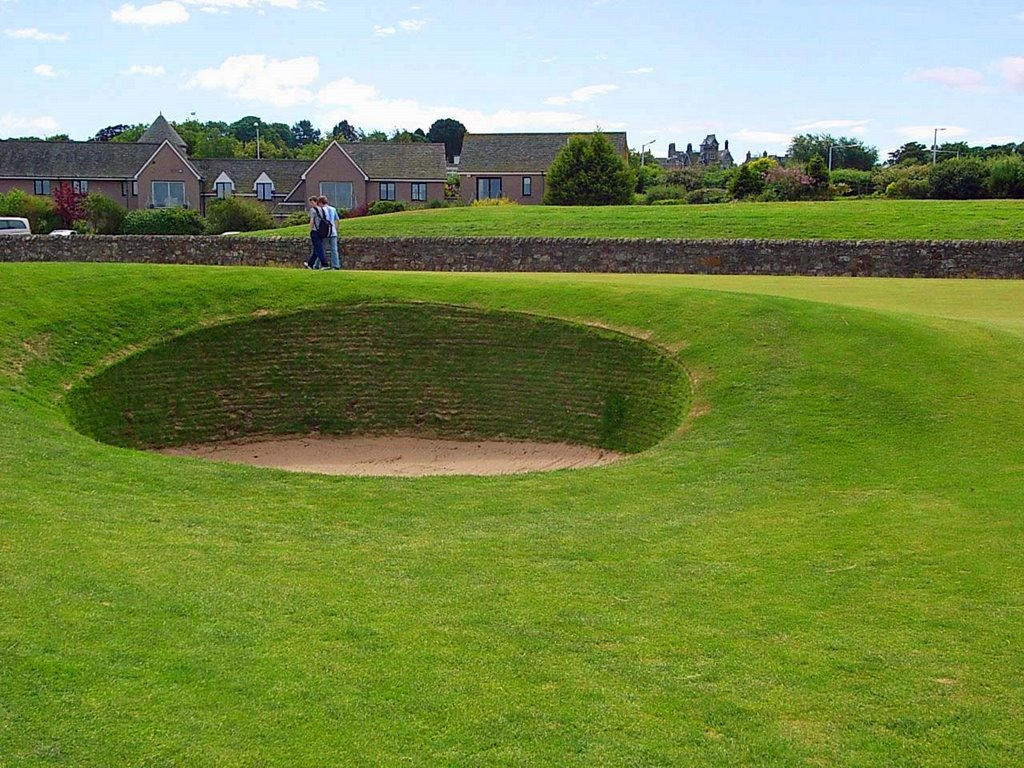 Pot Bunker 17TH Hole.