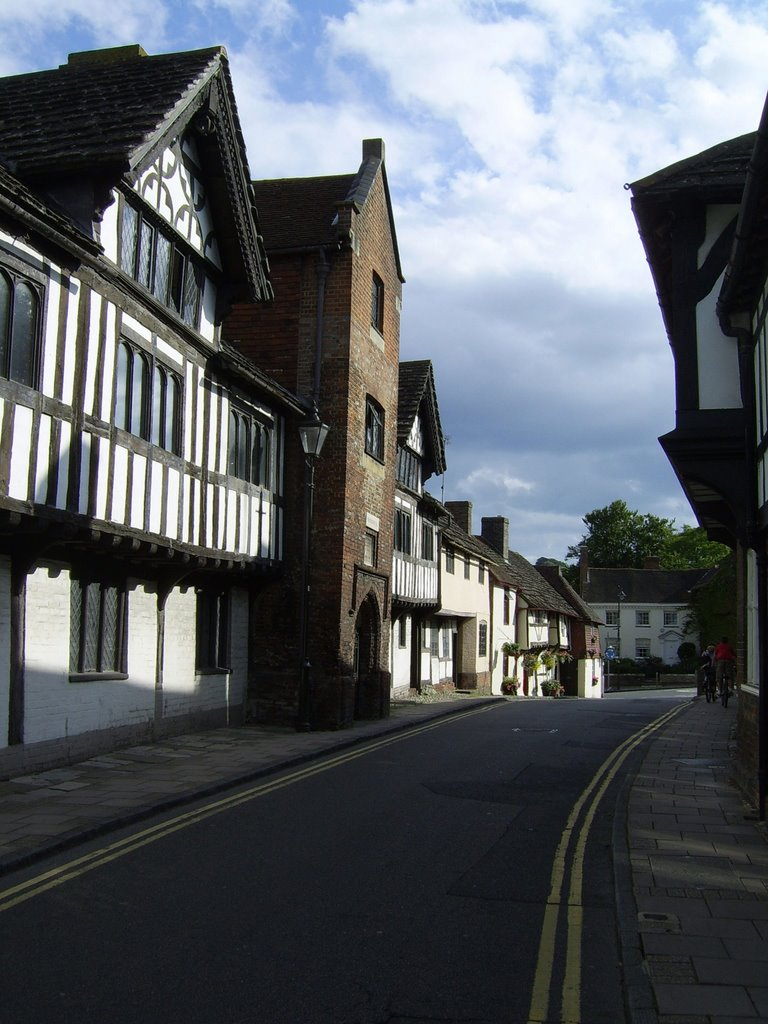 houses Church Street incl Chantry House