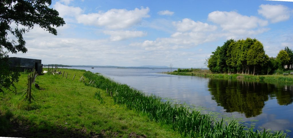 River Bann entering Lough Neagh