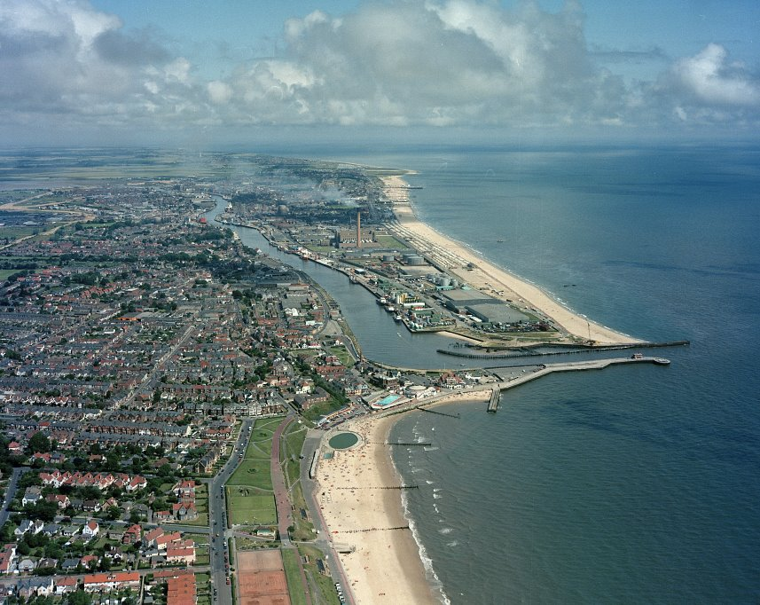 Great Yarmouth harbour and entrance