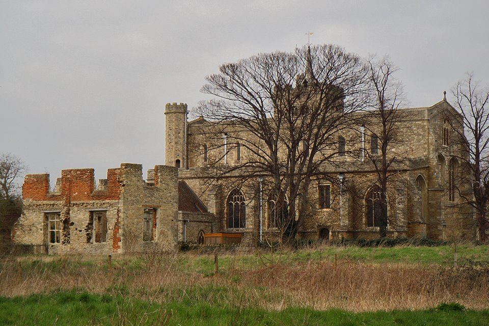 Elstow Abbey and the church