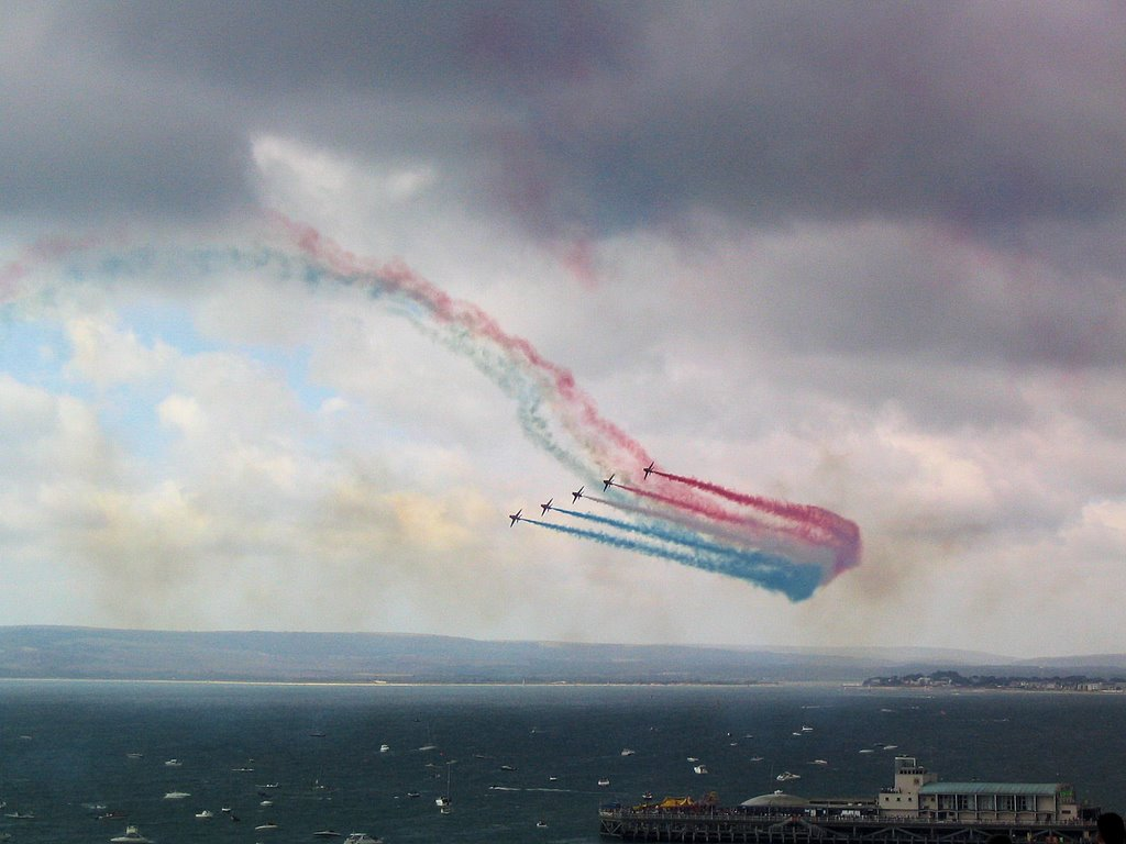 Red Arrows In Bournemouth
