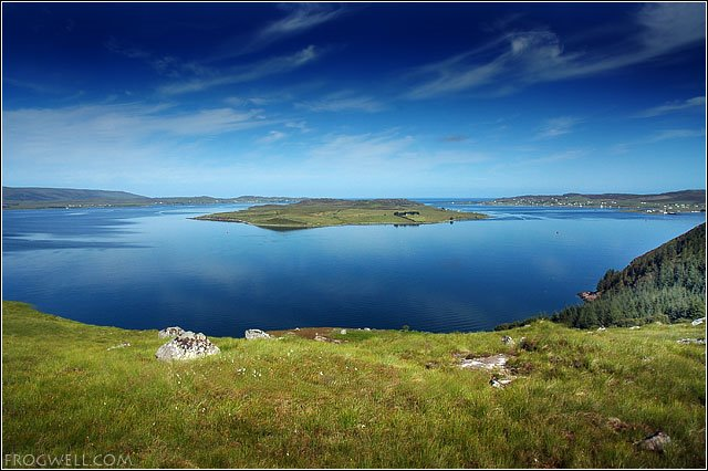 Loch Ewe and the Isle of Ewe