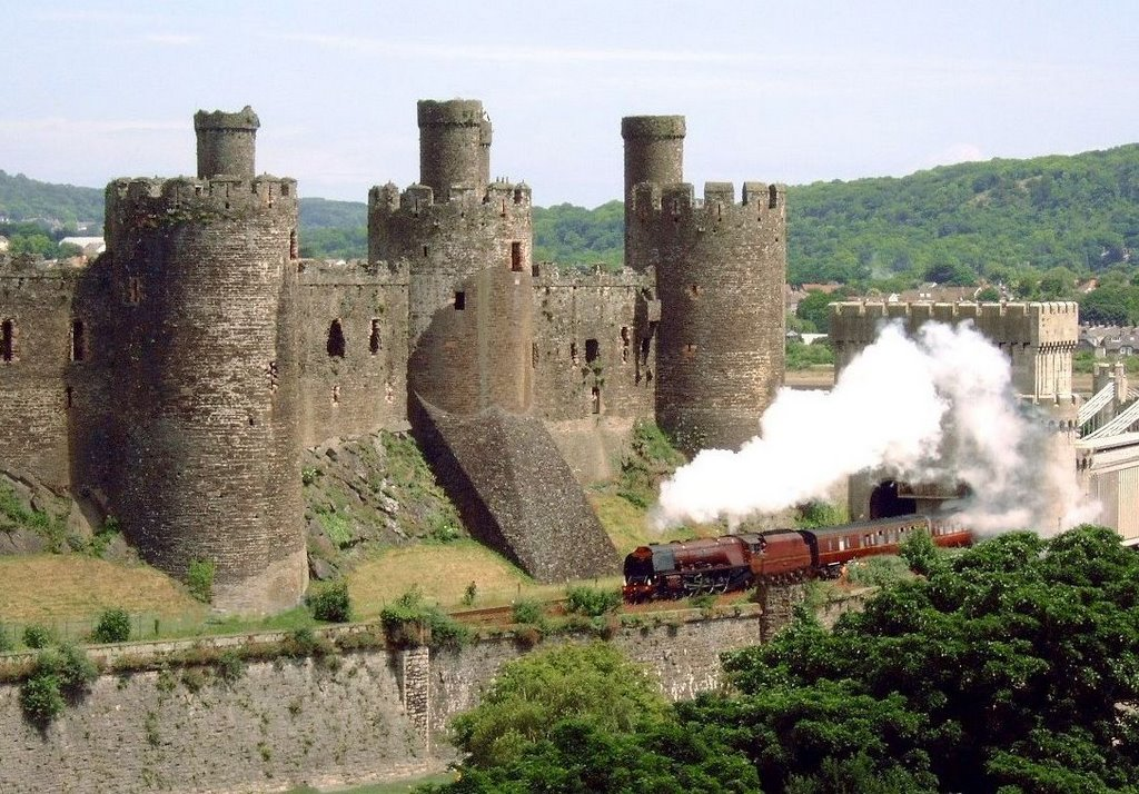 Conwy Castle & Duchess of Sutherland