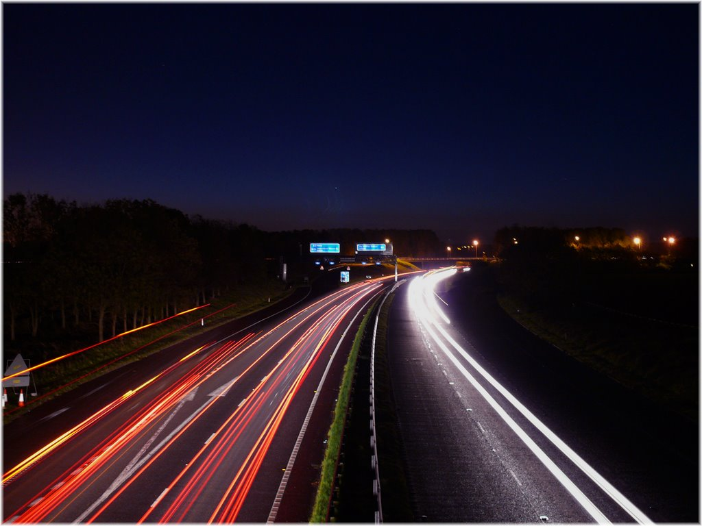 The Rush Hour Dawns - M1 at Moira