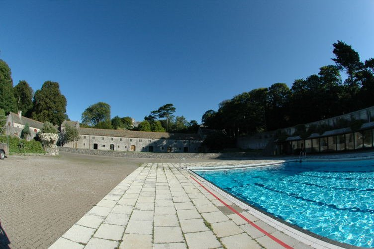 Where winter morning swim took place in 1973-75