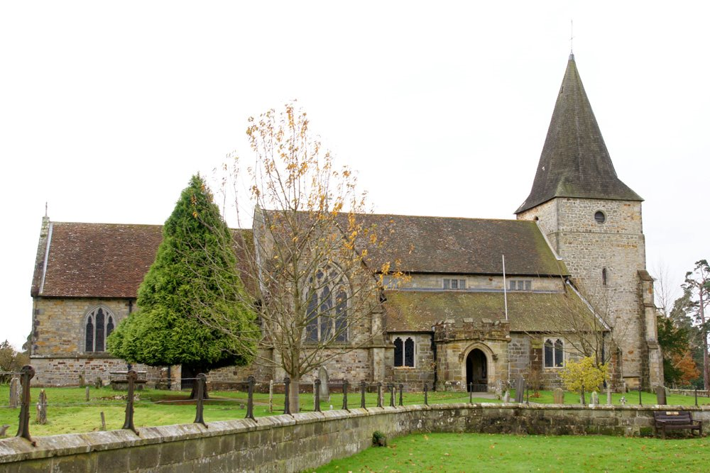 13th Century Church - St Margaret the Queen, Buxted