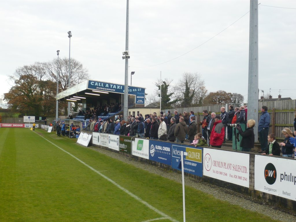 Stangmore Park, Dungannon - home of Dungannon Swifts