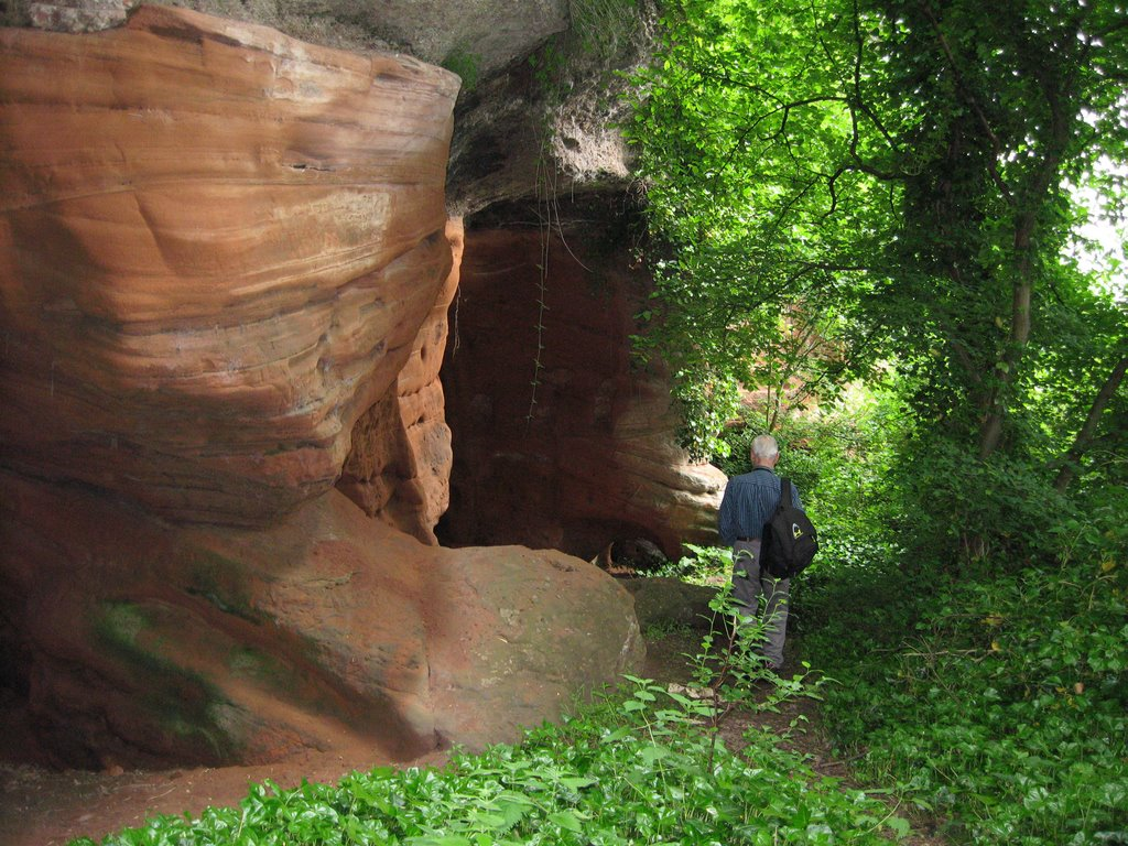 Caves at The Hermitage near Bridgnorth