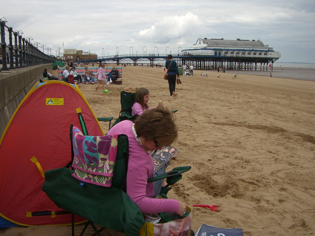 A rare trip to the coast. Cleethorpes.