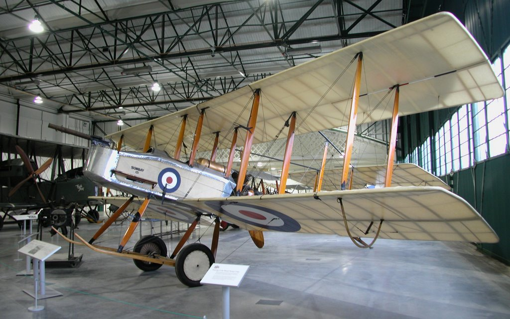 Vickers FB5, RAF Museum, Hendon, Grahame-White Factory