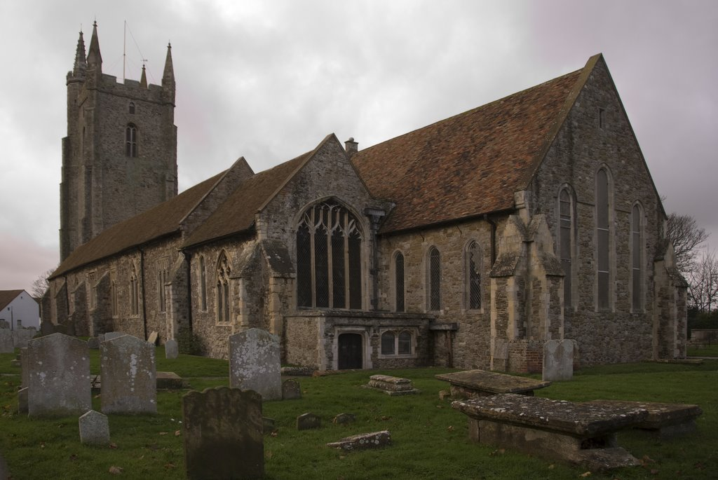 All Saints Church, Lydd (Cathedral of the Marsh), Kent