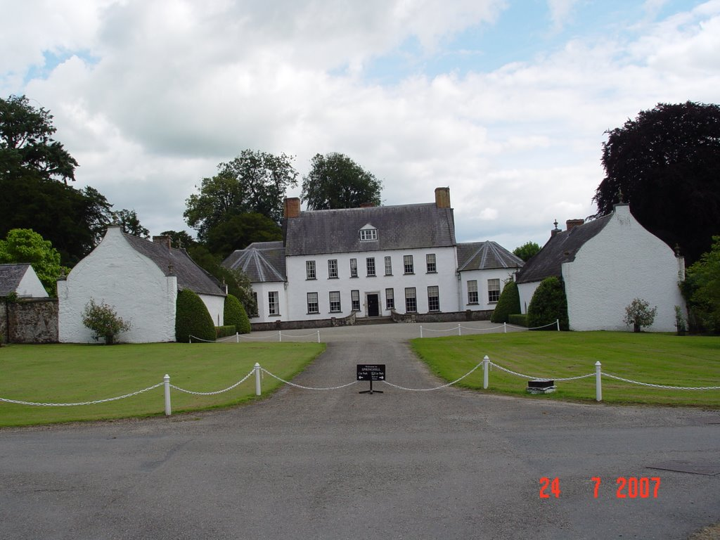 Spring Hill House, Moneymore, Northern Ireland.