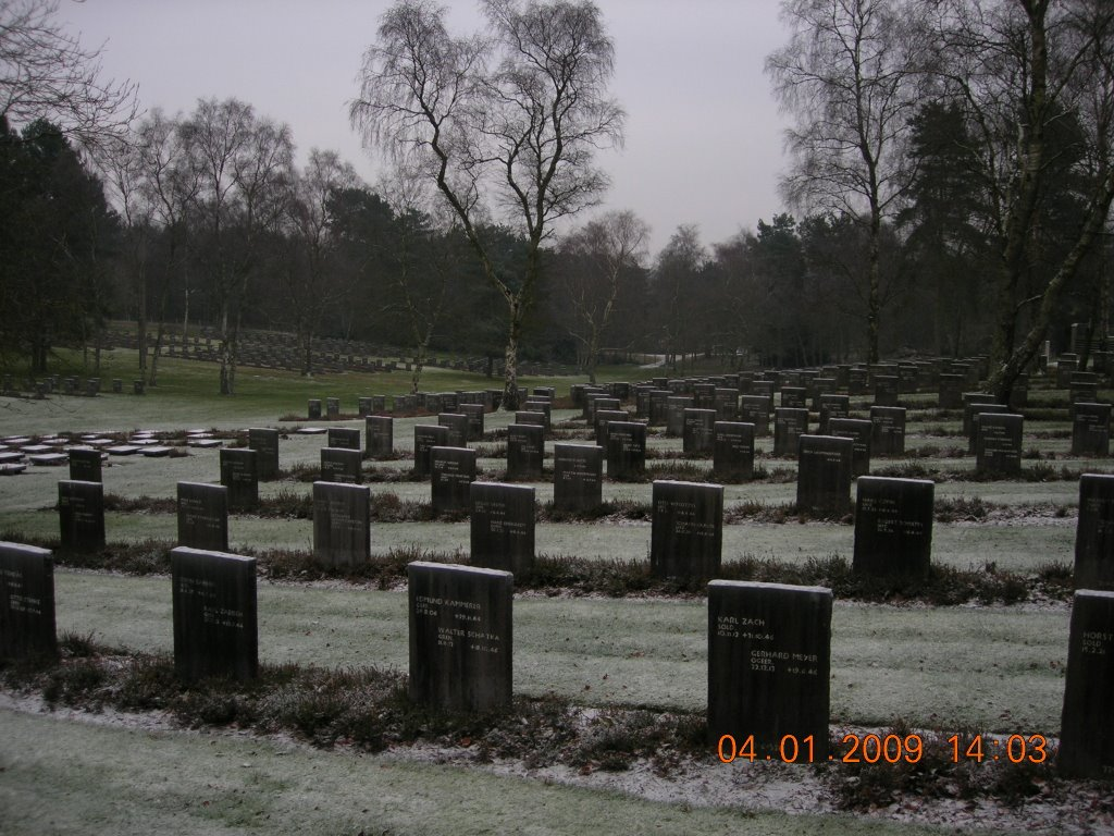 German War Graves Cannock Staffordshire