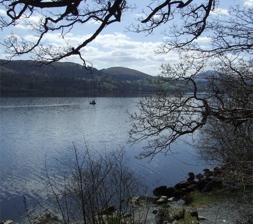 Llyn Tegid, Looking Southwest