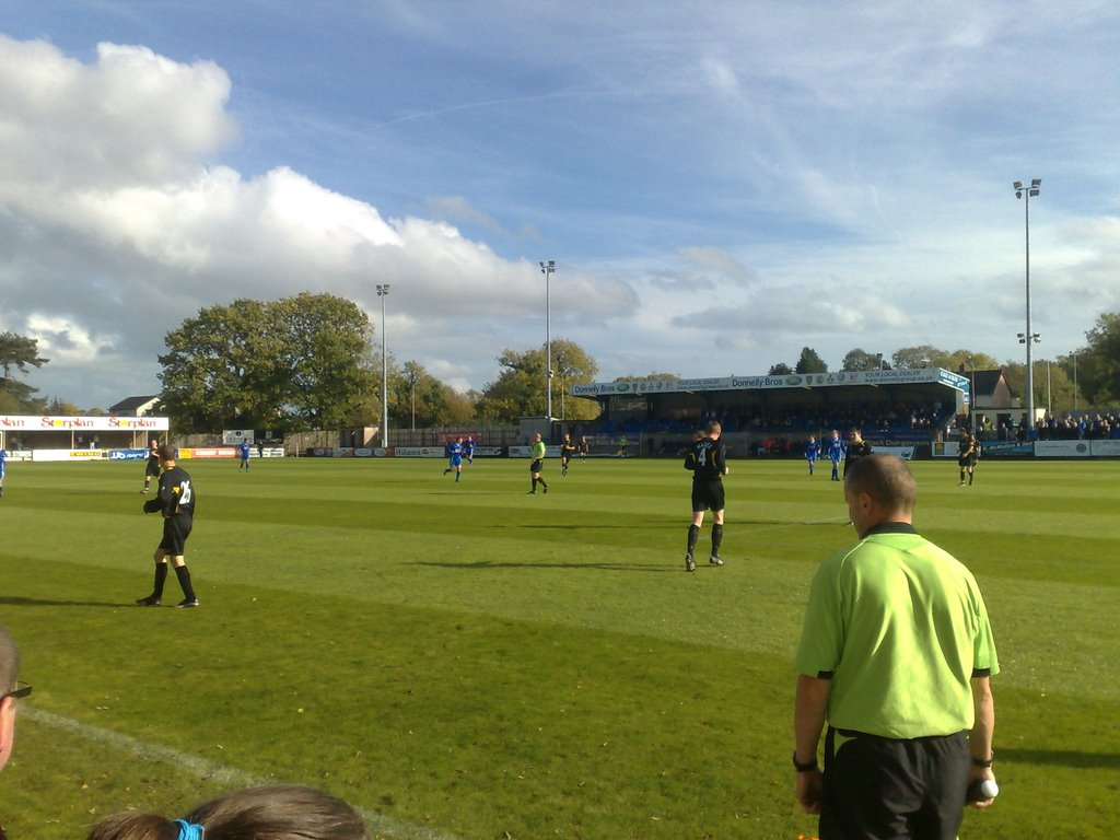 Stangmore Park. (Dungannon Swifts F.C.)