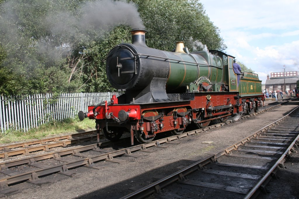 No.3440 CITY of TRURO at Barrow Hill open day