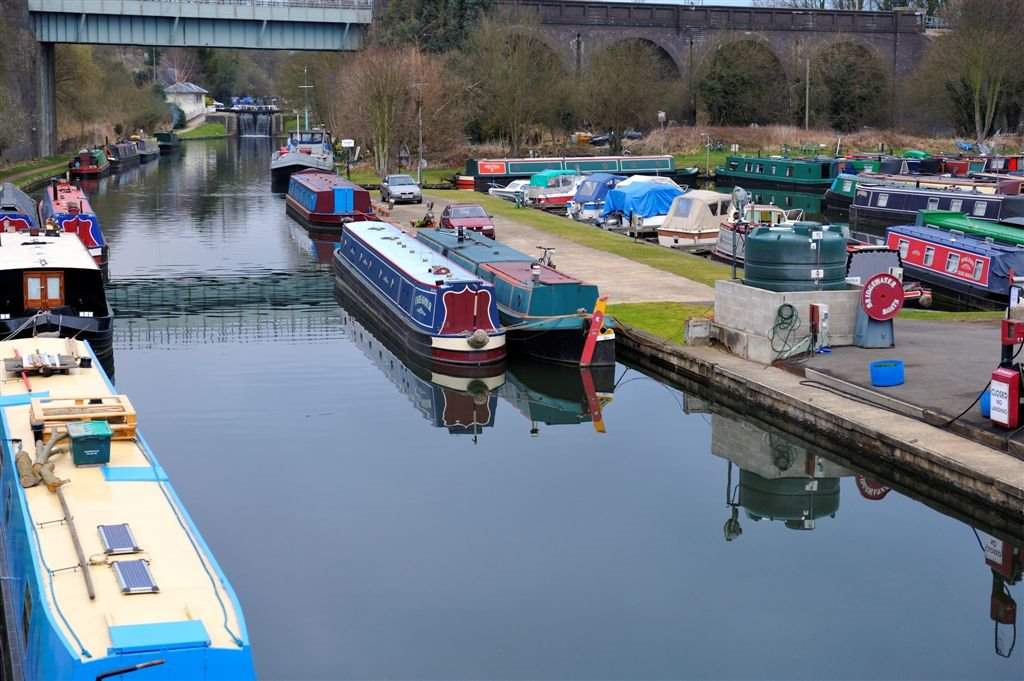 Marina ~ Grand Union Canal ~ Watford