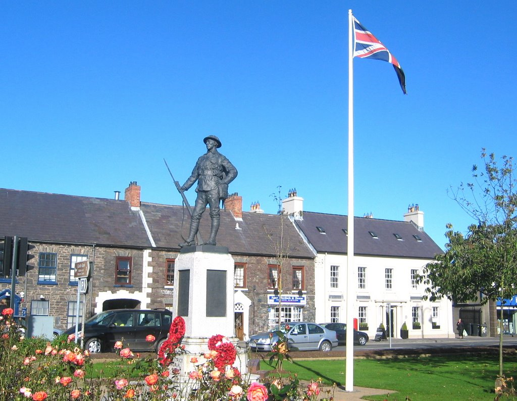 The Square & War Memorial Comber Co Down