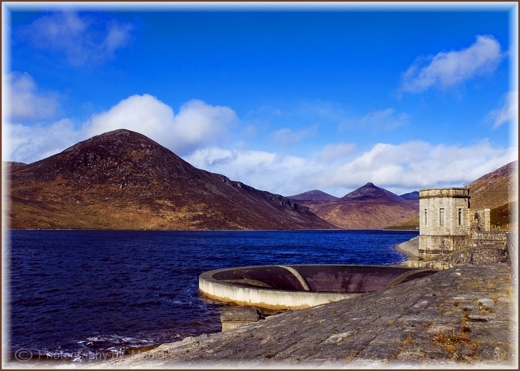Silent Valley Dam in the Mourne Mountains