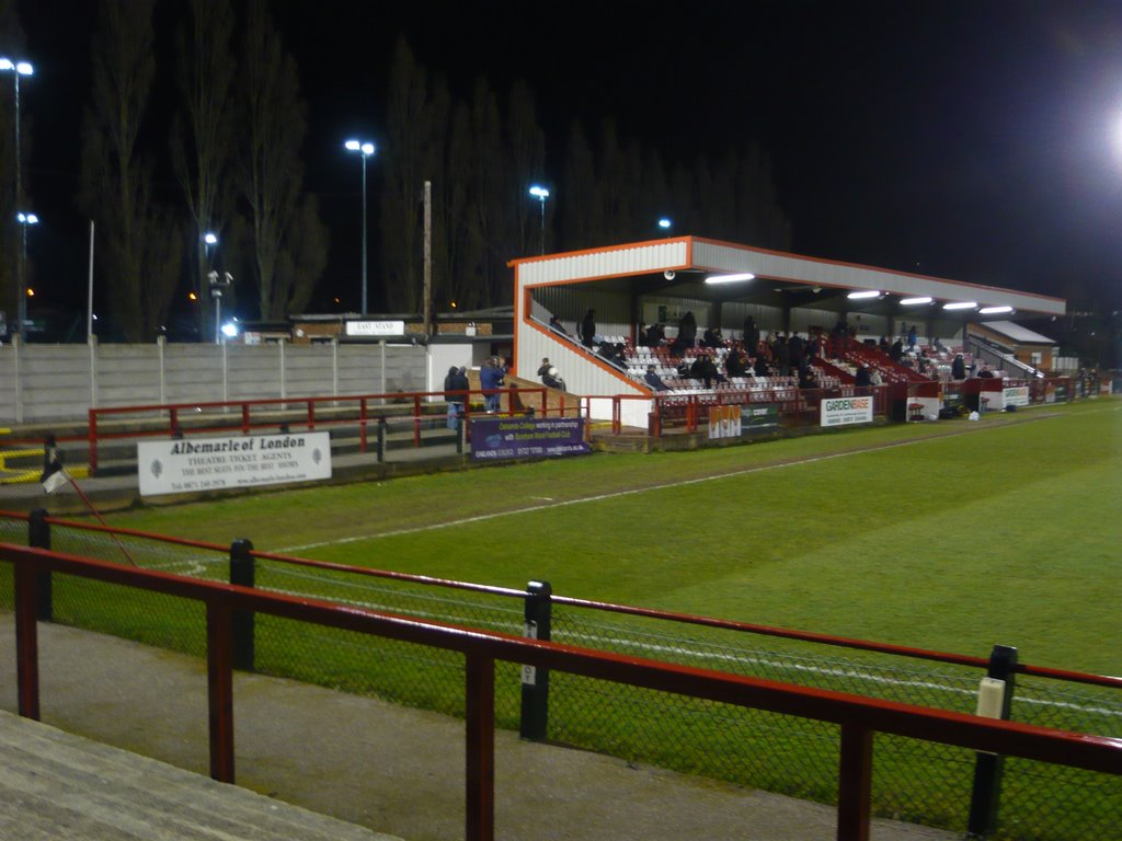 Meadow Park, home of Boreham Wood Football Club