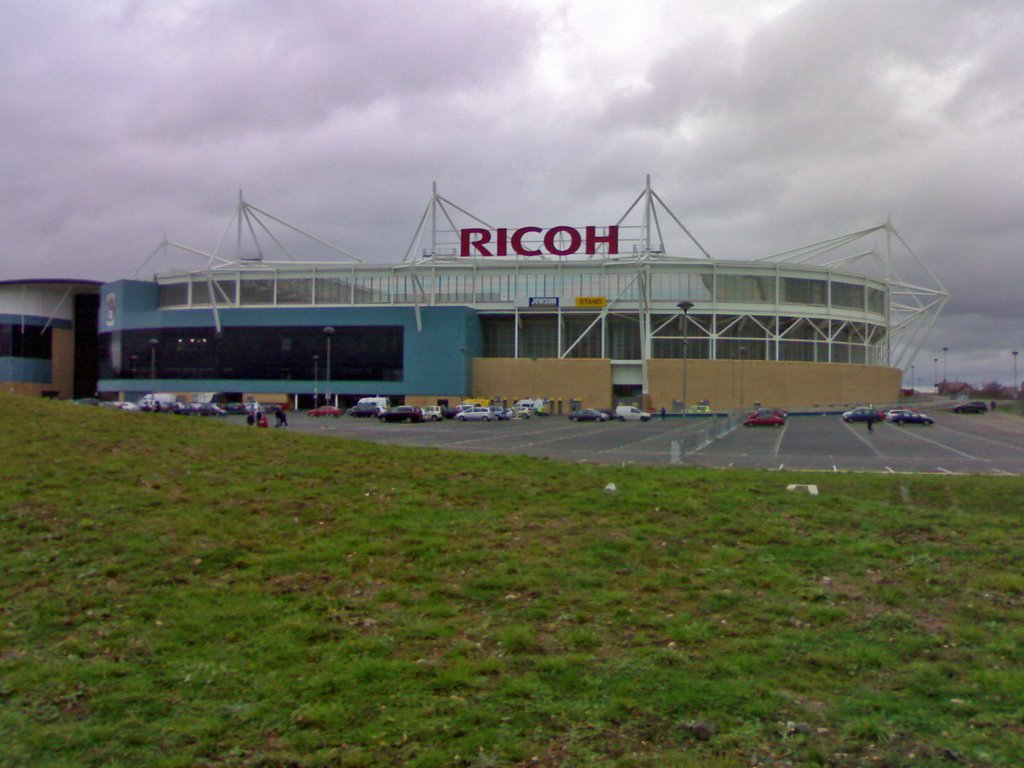 Outside The Ricoh Arena