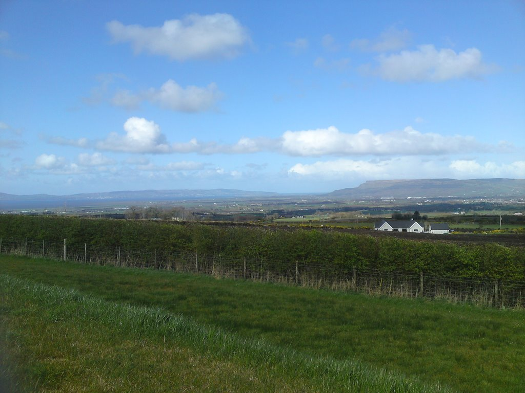Lough Foyle from New Line Road, Limavady