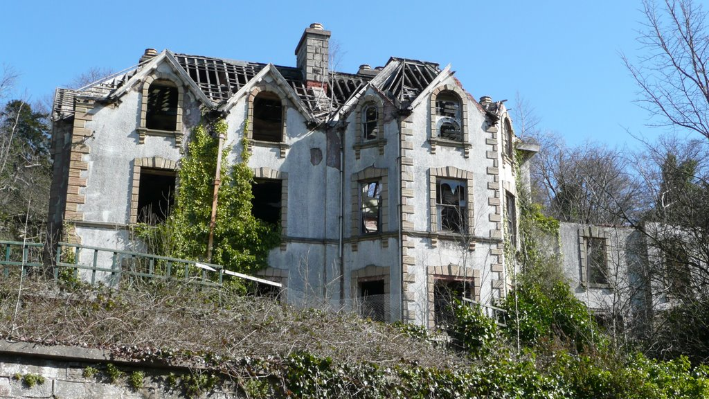 Pleasley Vale House, now Demolished