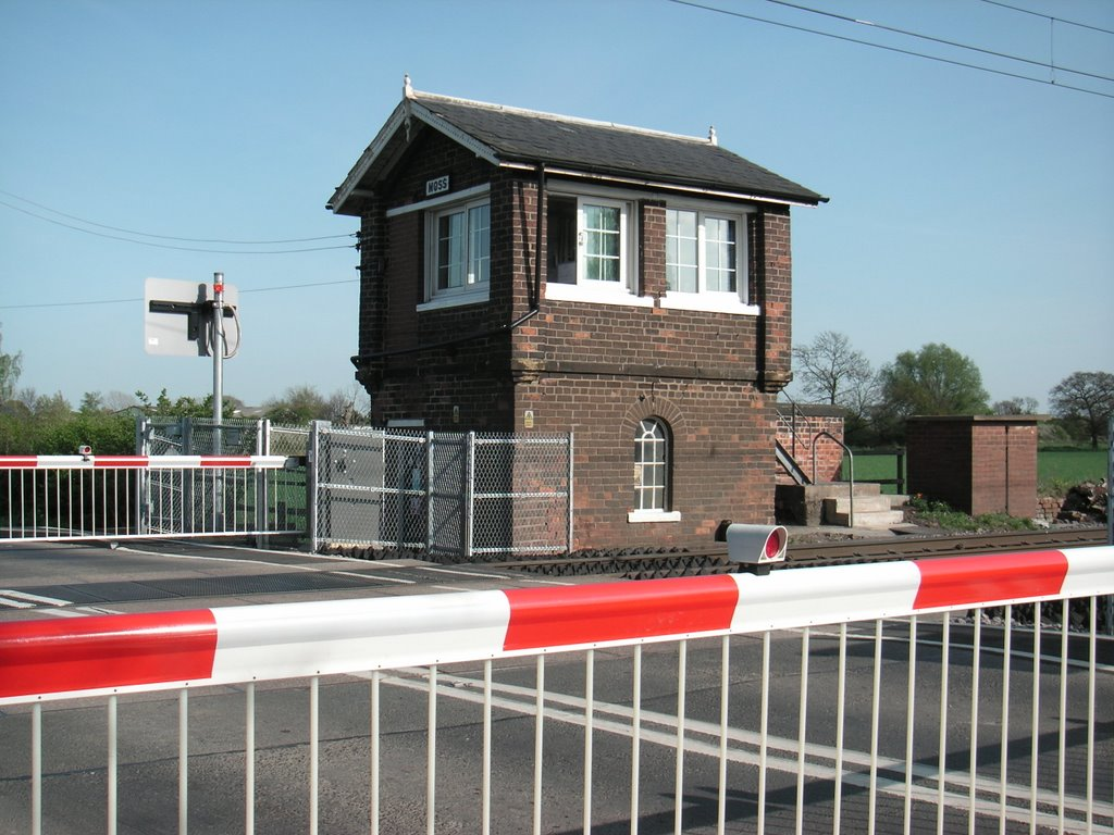 Signal box at Moss on the main NE line
