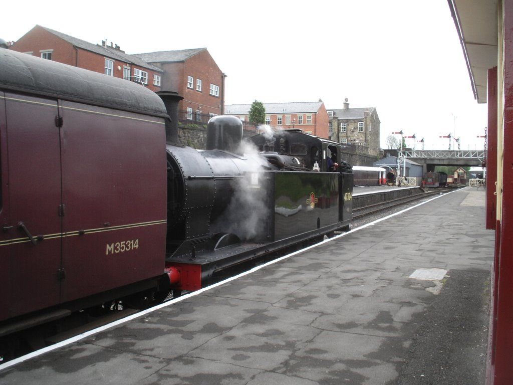 East Lancs Railway At Bolton Street Station