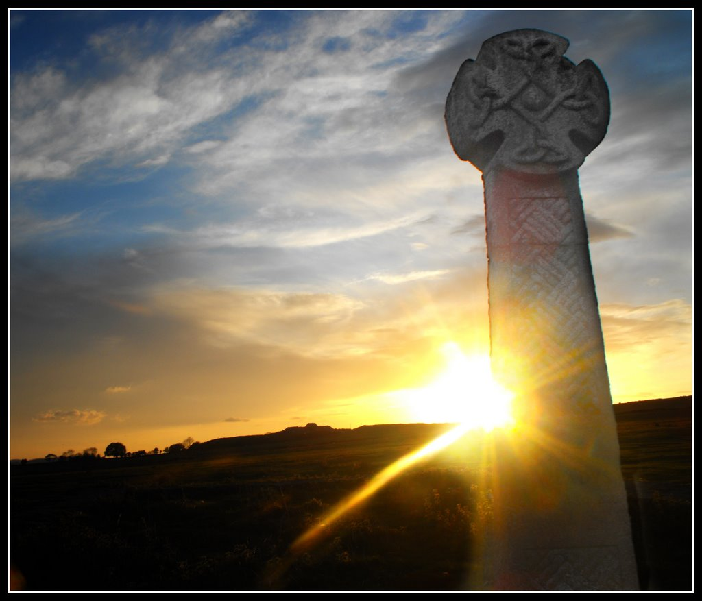 St.Gwladys Monument at Sunset