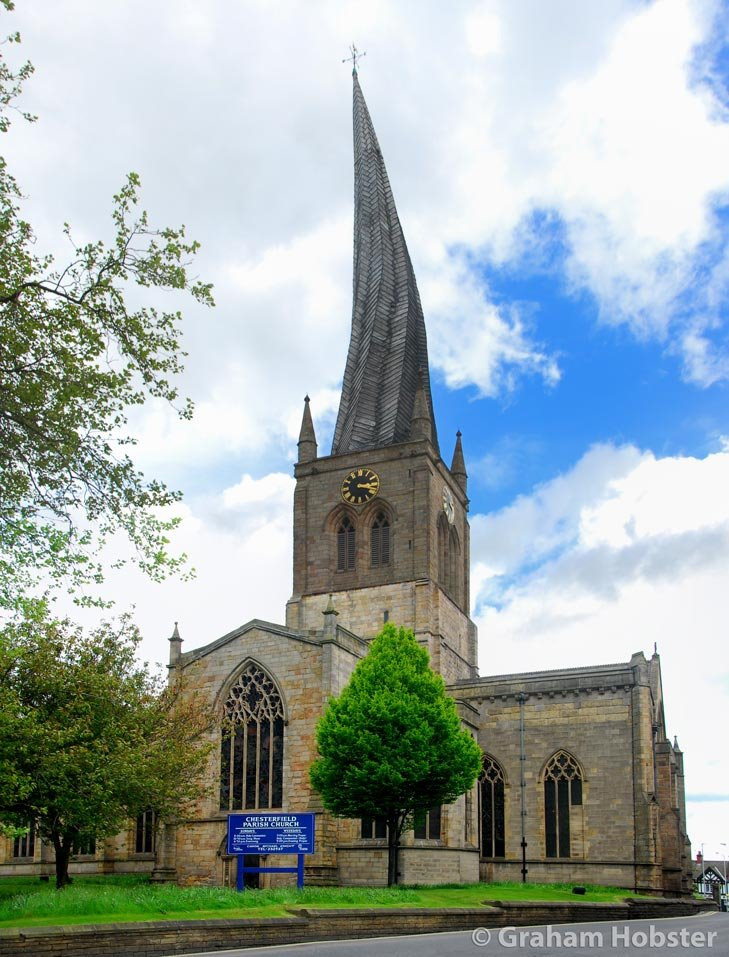 Chesterfield - Church with a Crooked Spire