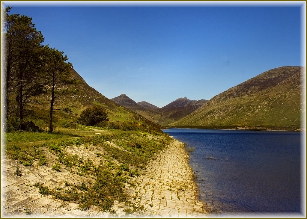 The Silent Valley Dam in the Mourne Mountains