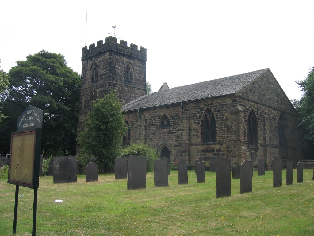 Church of St.George and St.Mary at Church Gresley