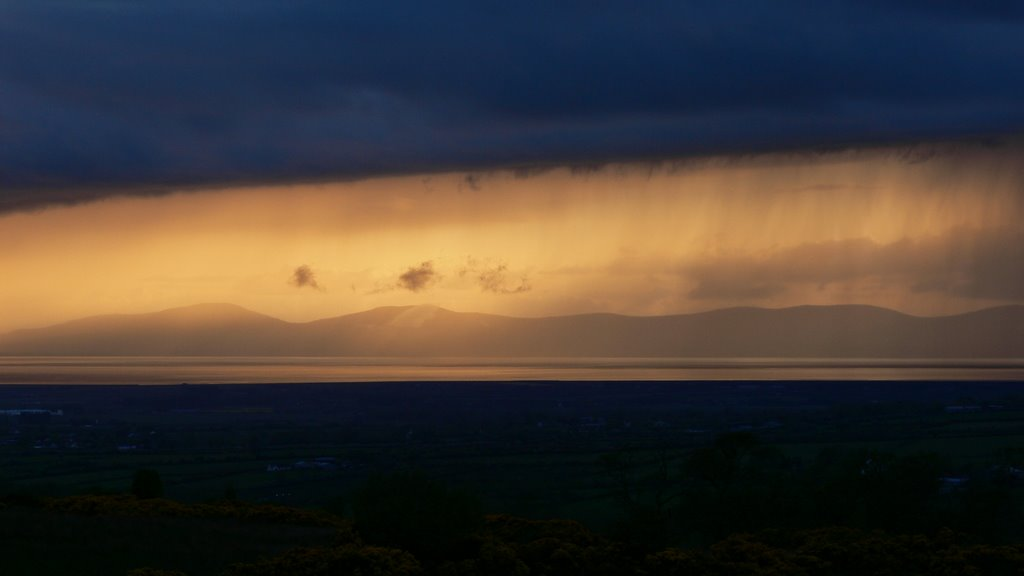 Sunset on Lough Foyle (Ulster)