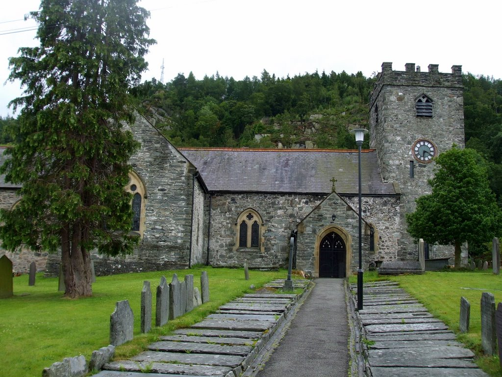 St Mael and St Trullions church, Corwen
