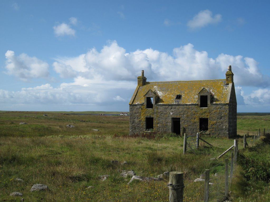 Ruin on South Uist