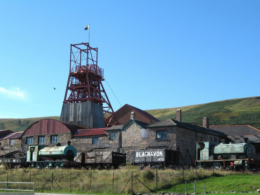 # BLAENAVON - WORLD HERITAGE SITE - birthplace of industrial revolution.